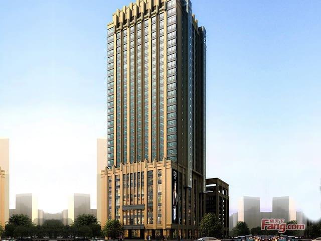 25楼望江景,一德路地铁站5分钟可到,是最多批发市场最繁华最美的好公寓 - Guangzhou - Apartment