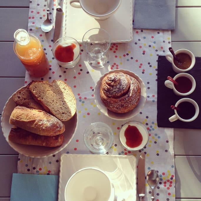 gourmand petit déjeuner maison