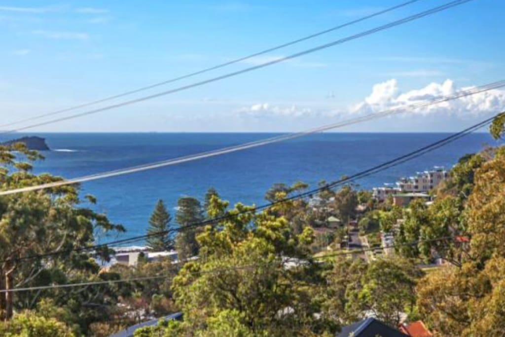 Avoca Beach House Views