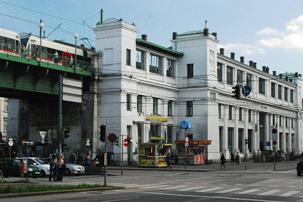 """this is the metro station """"alserstrasse"""" nearby"""