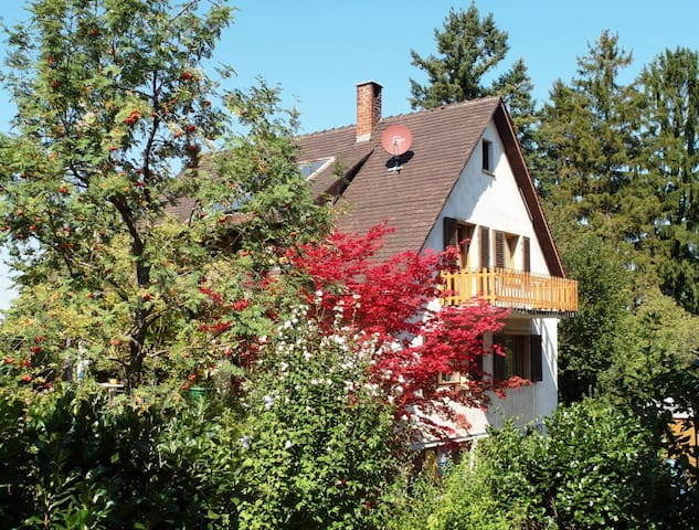 House with large garden situated on the edge - Schliengen - Ev