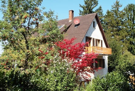 House with large garden situated on the edge - Schliengen