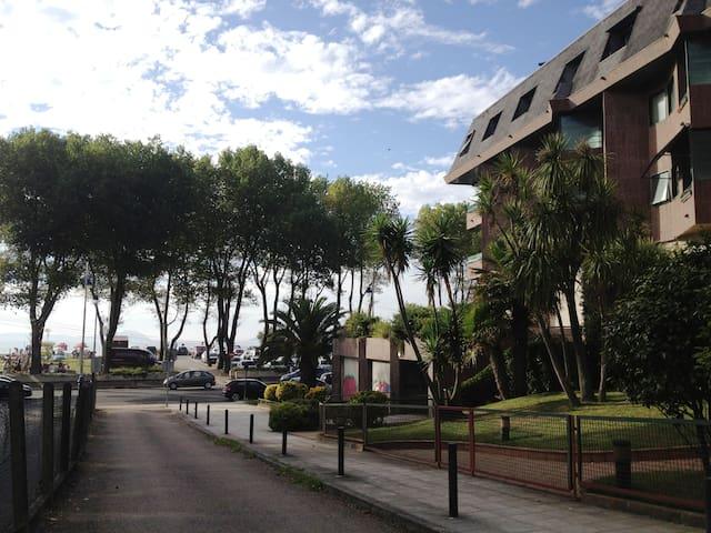 Apartamento en 1ª línea de playa - Vigo - Apartament