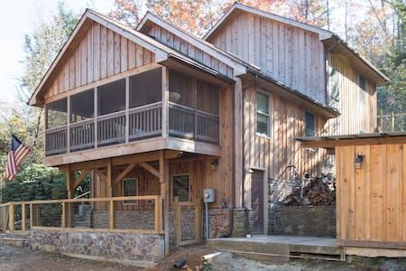 Large Cabin in Nat'l Forest-Walk to Rivers &Trails - HINTON - 小木屋