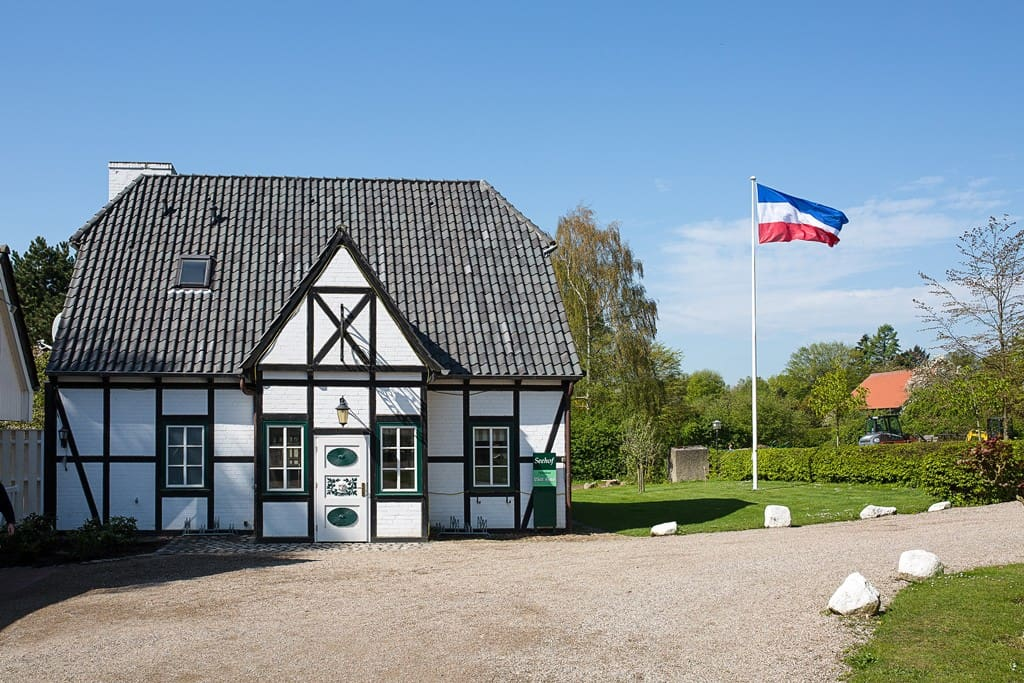 Lütt Hus - Fachwerkhaus im nordischen Stil