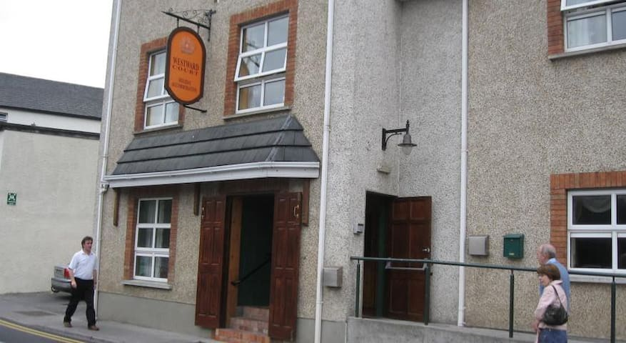 Entrance to Tralee Holiday Lodge