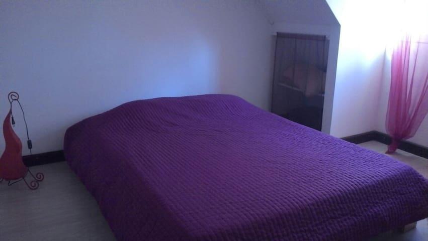 Chambre dans duplex F4 - Sainte Clotilde - Lägenhet