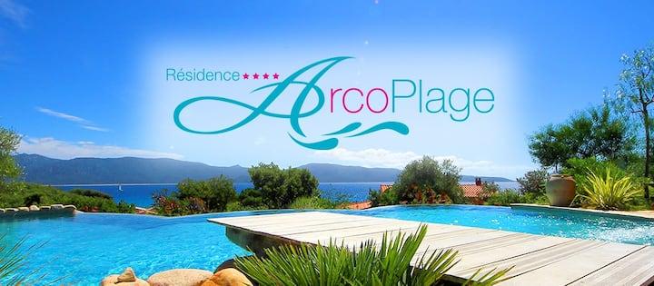 Villa individuelle  avec vue mer et accès piscine
