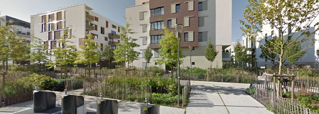 Logement Neuf à 5min RER B/C & TGV - Massy - Apartamento