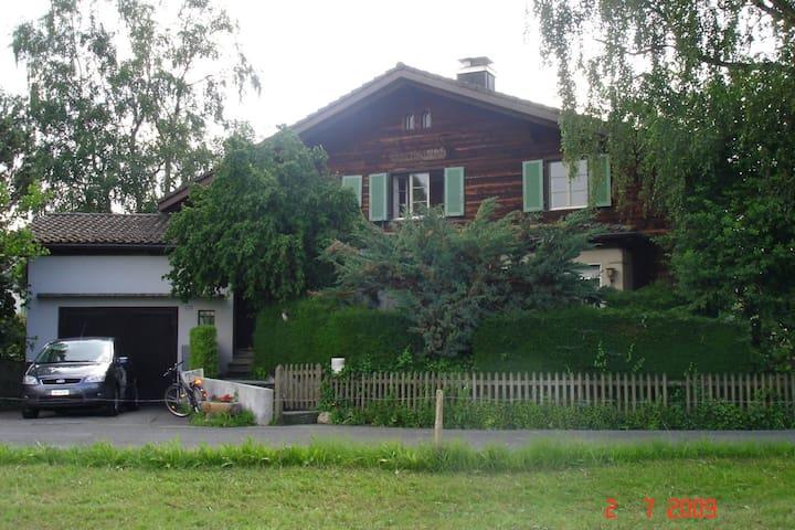 Swiss Vacation House on Lake Aegeri