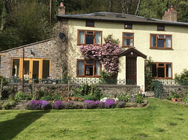 Tynewydd Welsh Farmhouse B&B - Llanfyllin - House