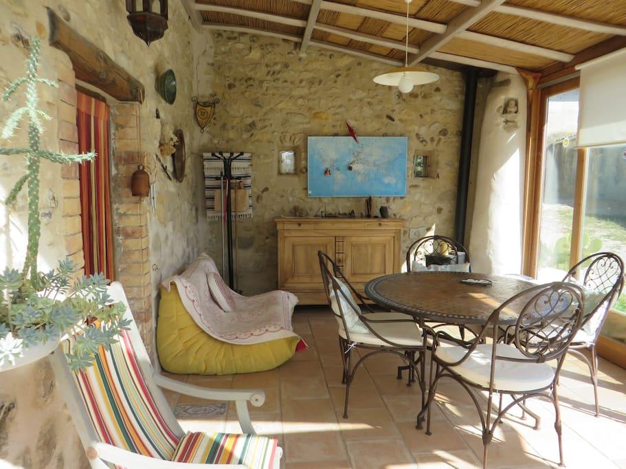 au calme 1 km du village d 39 allex pernottamento e colazione in affitto a allex rodano alpi. Black Bedroom Furniture Sets. Home Design Ideas