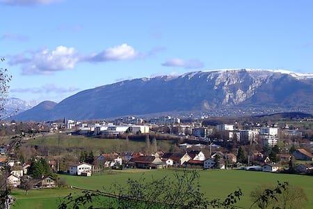 Studio proche Geneve avec parking - Saint-Julien-en-Genevois - Lejlighed