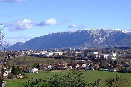Studio proche Geneve avec parking - Saint-Julien-en-Genevois - Wohnung