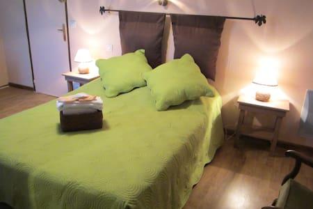 chambre mandarine - Saint-Jean-de-Sauves - Rumah