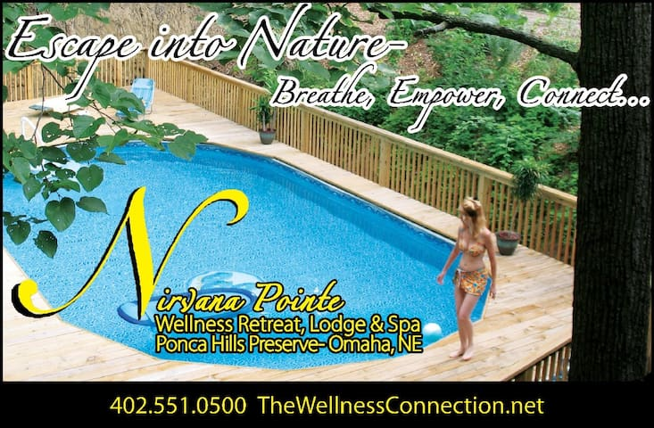 Nirvana Pointe Wellness Lodge & Spa - Omaha - Wikt i opierunek