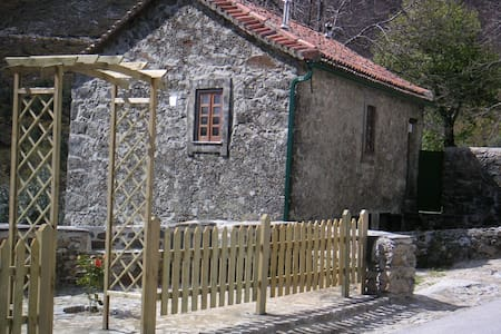 Rustic Mountain Country Stone House - Coentral Grande - Вилла