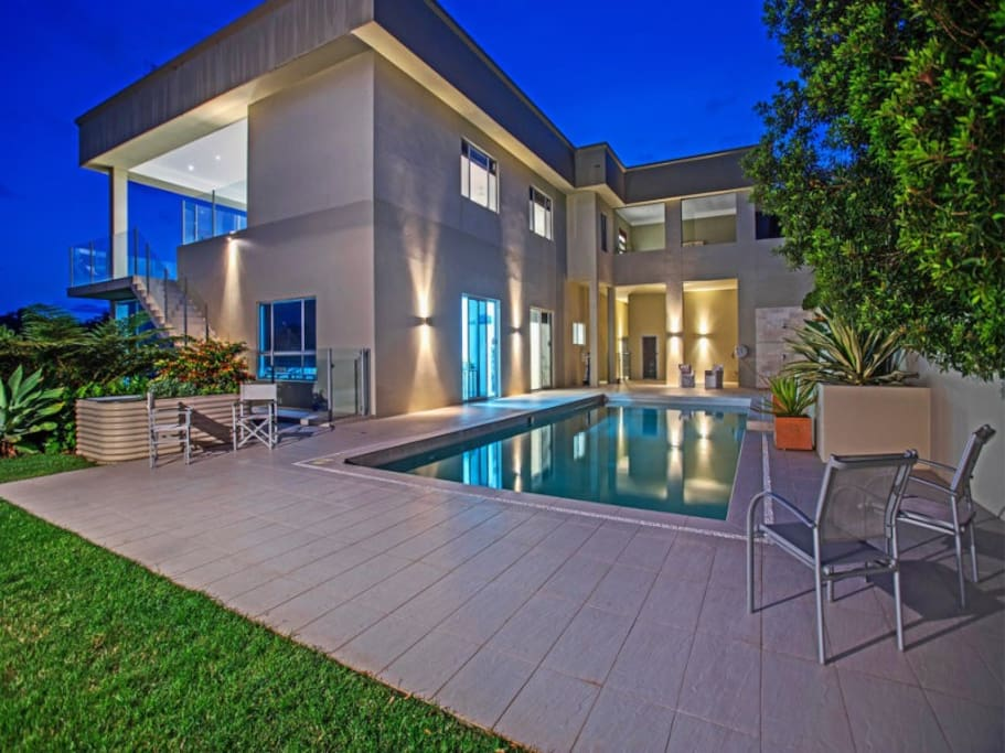 Luxurious 2 level residence with pool and outdoor entertainment areas