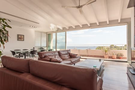 Spacious penthouse near the beach - Cas Català