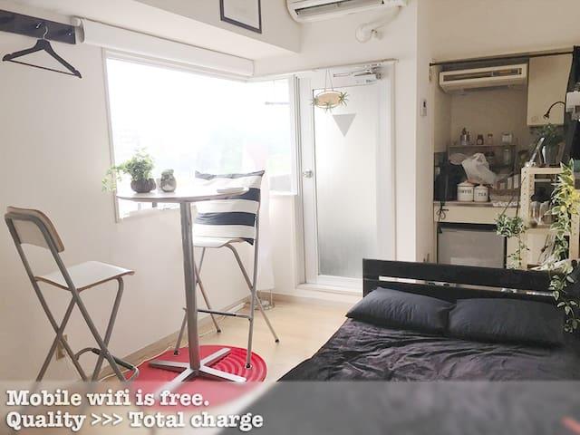 Cozy&Clean, nearest Sta & GyoenPark - Shibuya-ku - Daire