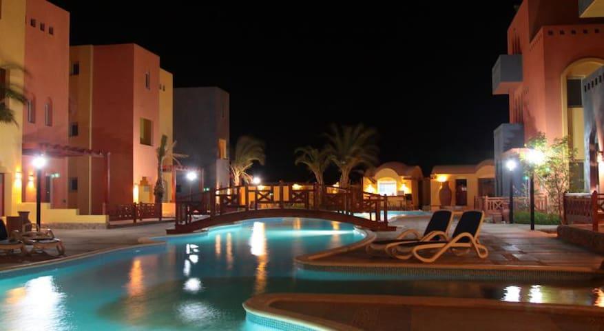 Уютная квартира в АL DORA Residence - Hurghada  - Leilighet