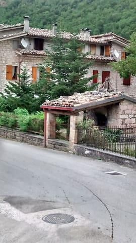 appartamento in un borgo incantato - Foce di Frontone - Appartement