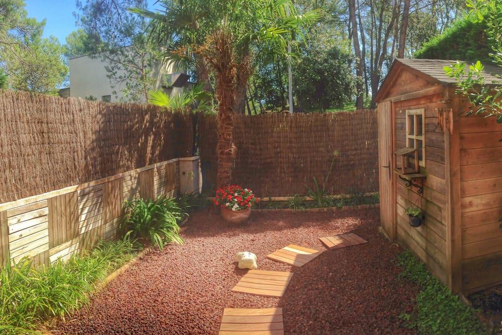 Guest room garden!