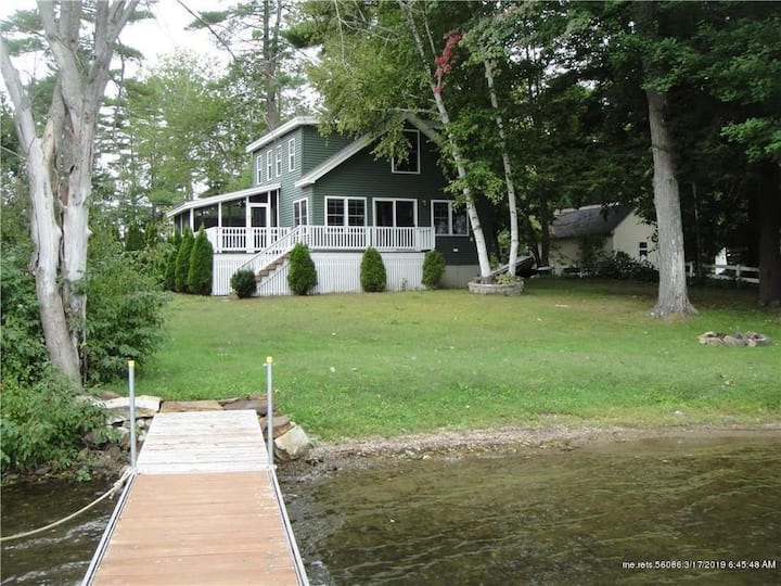 Lake front Retreat on  Cobbosseecontee Lake