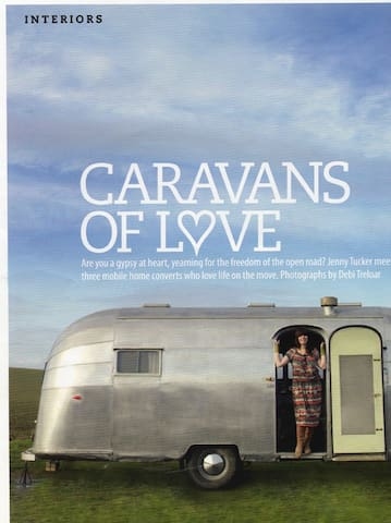 Our Airstreams have been featured in many magazines