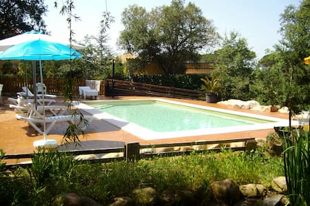 Lovely villa  with saline pool for 7 guests - Sils - Casa de camp