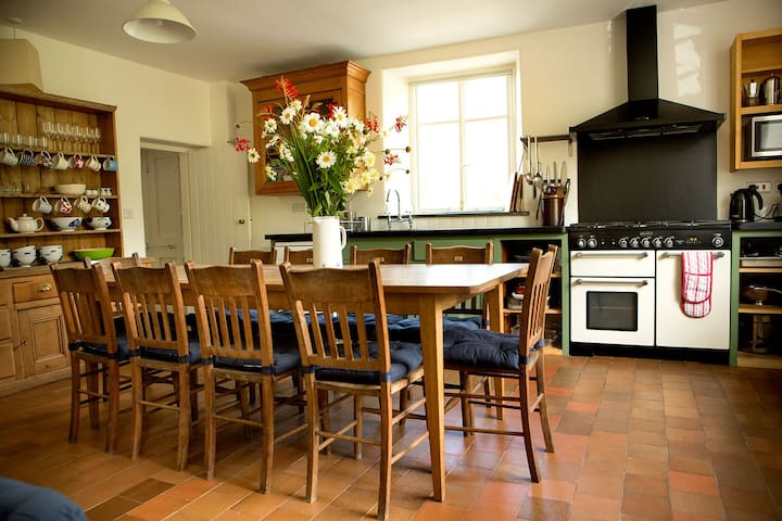 Penylan farmhouse Mid Wales Holiday Home - Powys - Rumah
