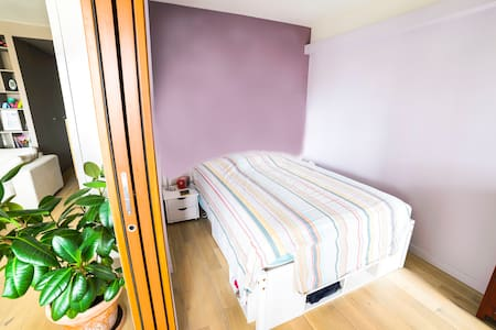 Sunny Bedroom/ flat-fantastic view - Paris