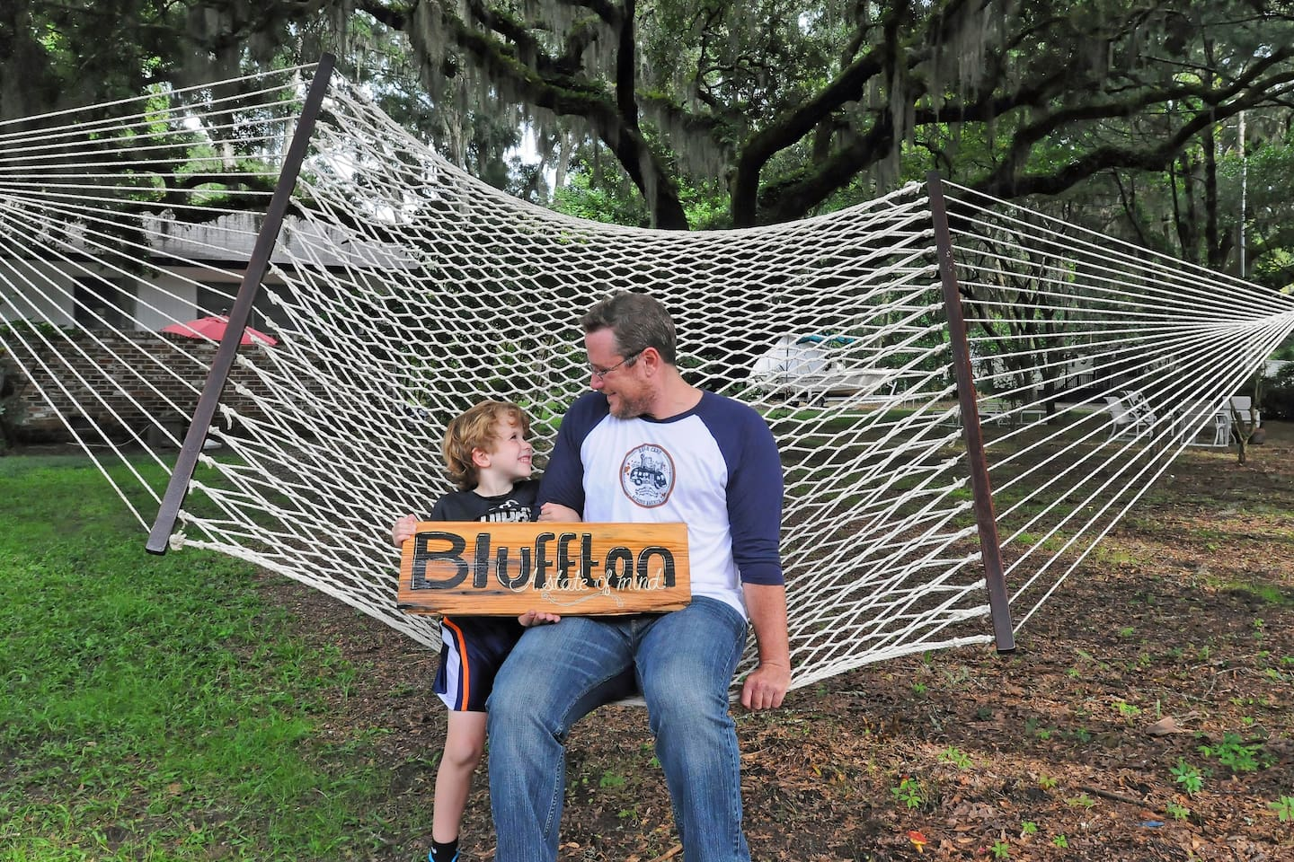 Your hosts.  Zack and I welcome you and hope you enjoy all that historic downtown Bluffton has to offer, just steps away.