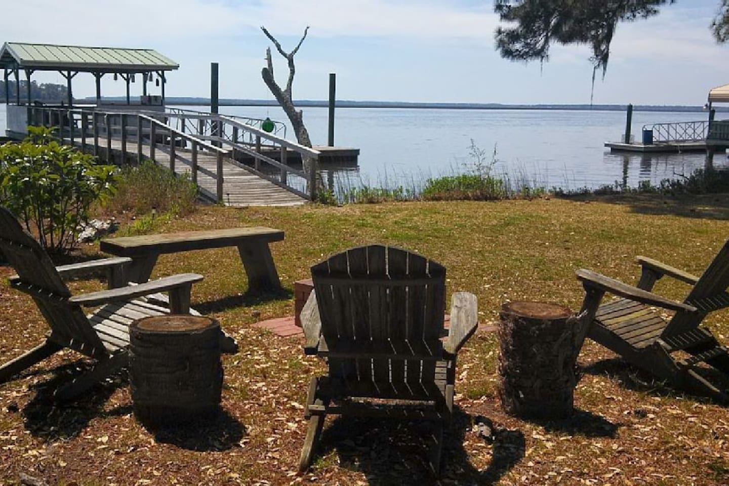 Midway , Ga. Kick back and enjoy the view of the north Newport river !