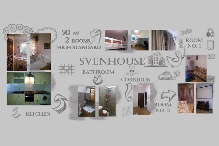 50M - 2 ROOMS - UPSCALE STANDARD - Warszawa - Apartment