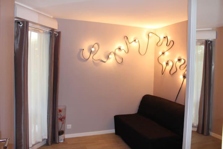 Chambre dans gd appart proche rer - Viry-Châtillon - Apartament