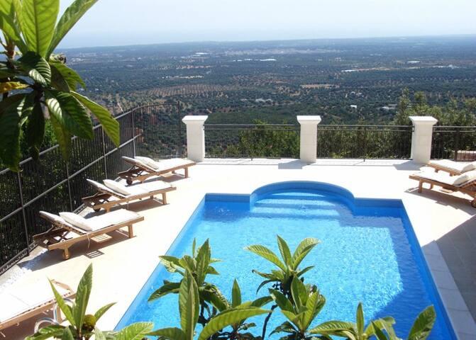 Deluxe Villa, Heated Pool & Seaview - Selva - House