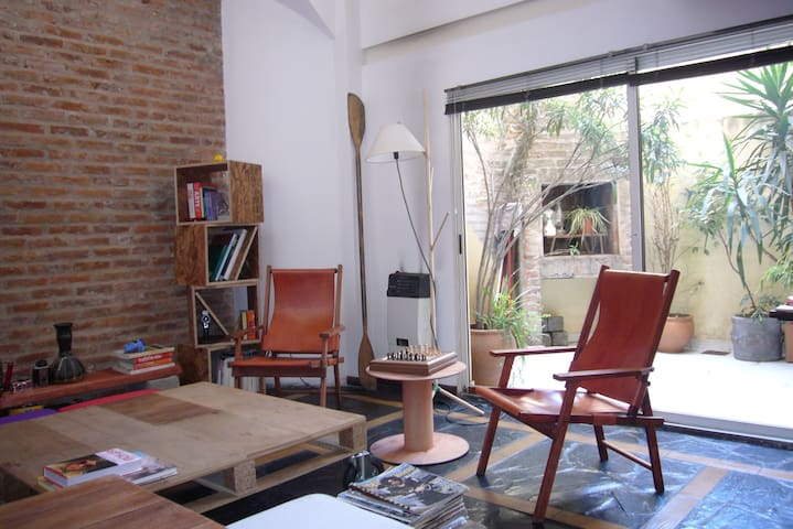 Loft en Palermo Soho, Buenos Aires.