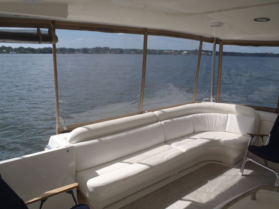 Aft helm seating