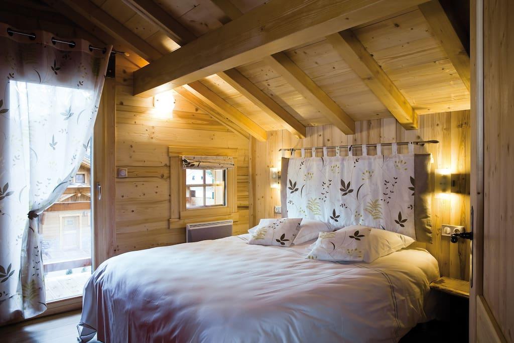 Chambres raffinées et soignées...
