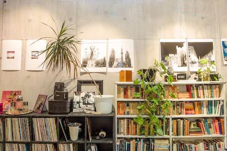 Artist's studio at West Queen West!