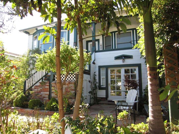 Garden Apartment on S F Peninsula