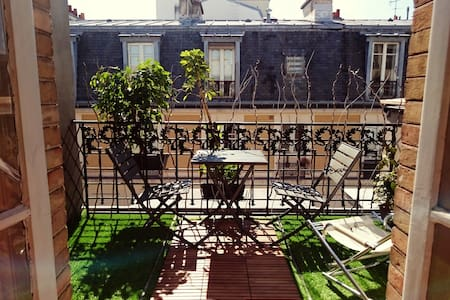 Penthouse Luxembourg Gardens, 35 m²