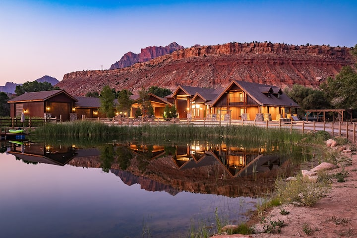 Zion Oasis Mansion 10 min from Zion National Park
