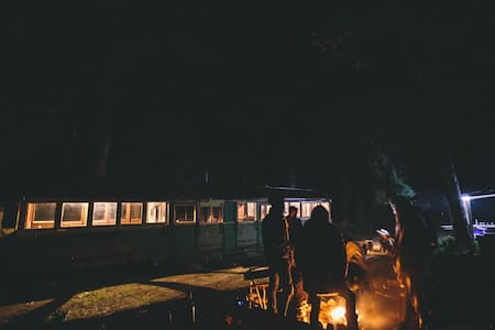 Tram and vintage caravan 5 minutes from Kyneton - Lauriston - Other - 1