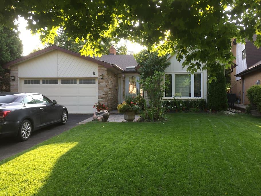 Private Landscaped Home