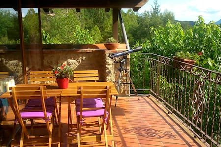 at Mas Franch:Spacious, warm bright - Sant Feliu de Pallerols - Lejlighed