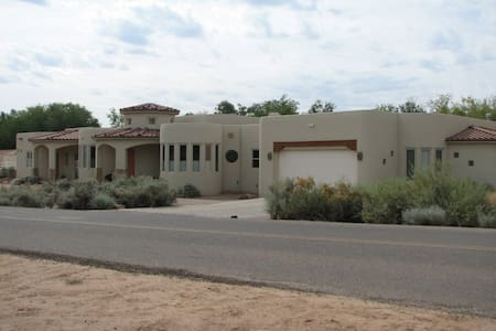 Located on 3 acres in Corrales. - Corrales