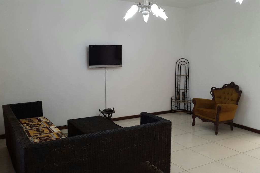The Reception and Lounge Area