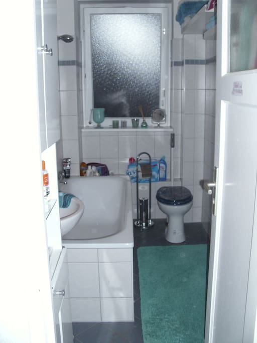 bathroom, very lightfully
